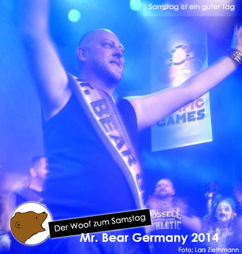 Mr Bear Germany 2014 (Foto: Lars)