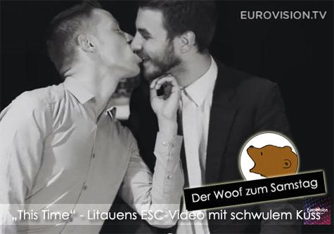 DerWoofzumFeiertag_SchwulerKussfuerLitauen